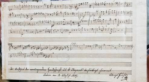 モーツァルトの自筆譜確認:付)...